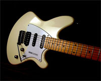 The NARDCASTER Guitar, designed and built by Jochen Imhof, owner and founder 